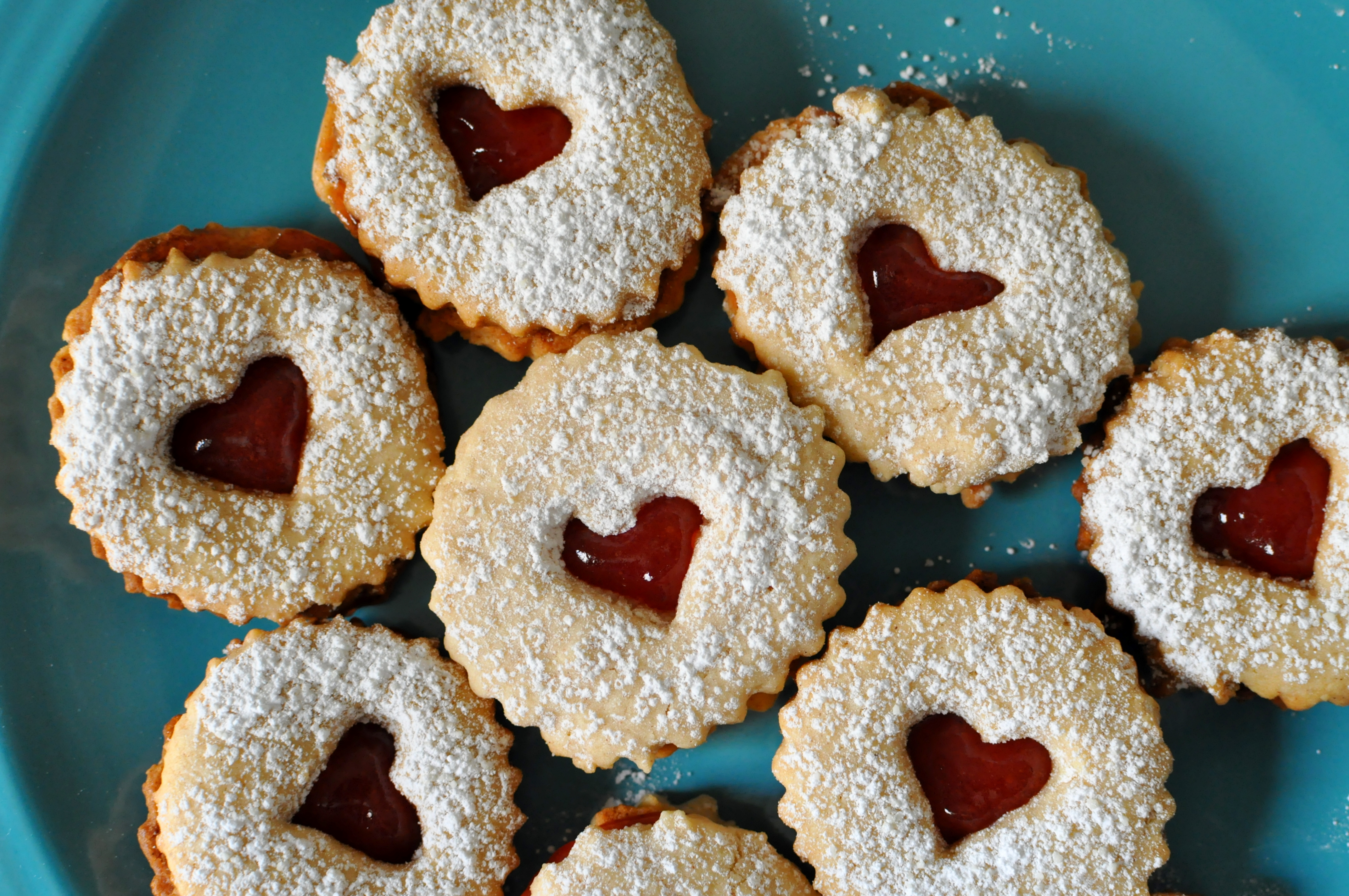 Linzer Cookies 002